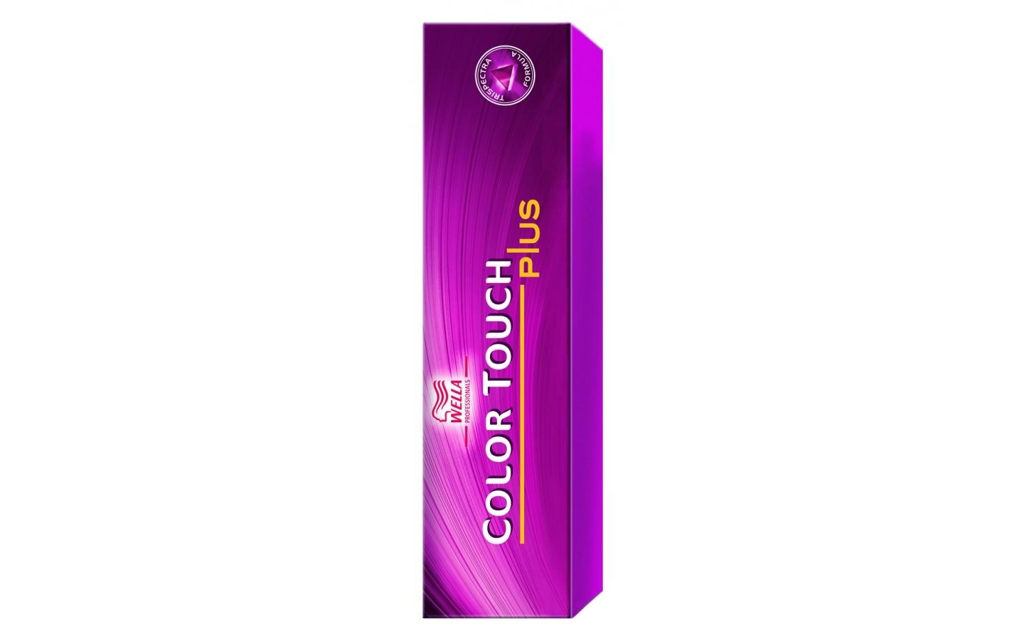 Wella Color Touch Plus Intensiv Tönung 55/04 - hellbraun intensiv natur-rot