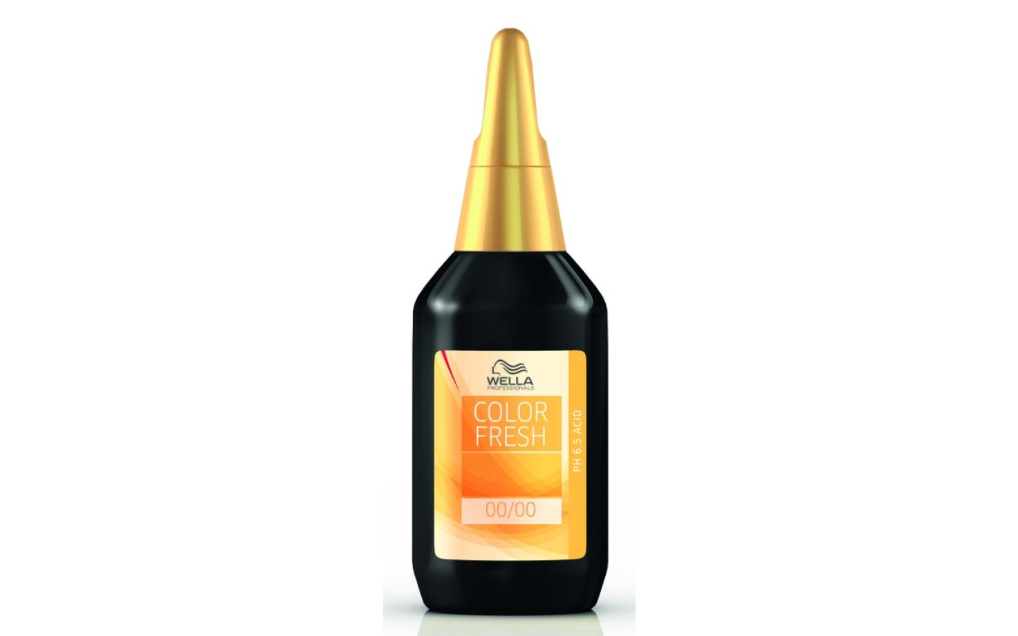 Wella Color Fresh Glanz-Tönung 75 ml ph 6.5-Acid 5/56 - hellbraun mahagoni violett