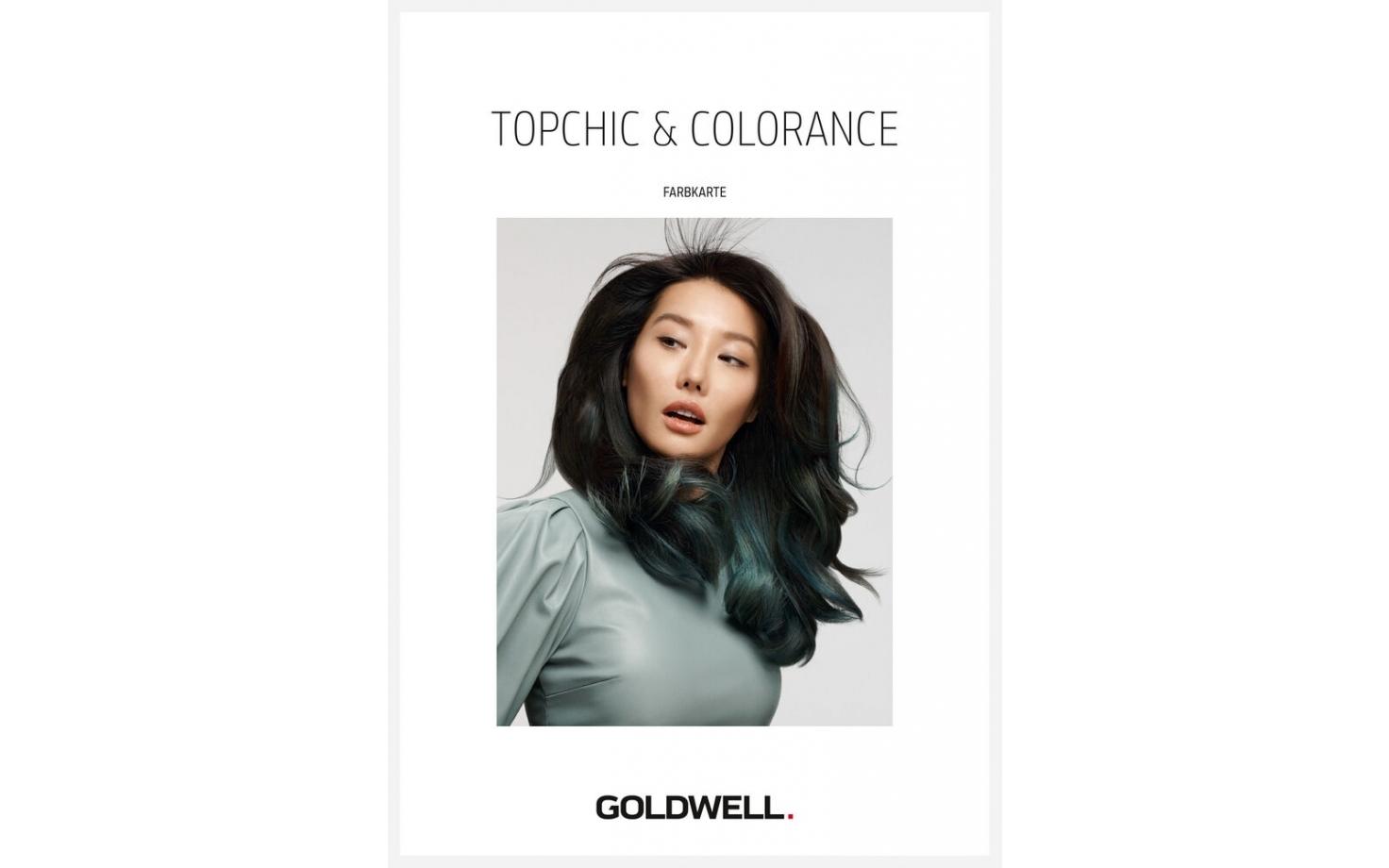 Goldwell Topchic Color Farbkarte inklusive Highlift Matirx