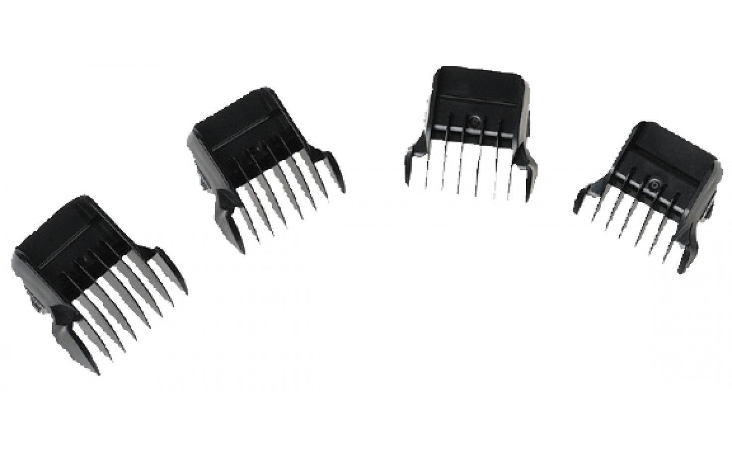 Tondeo ECO-Black M Aufsteckkammset 3,6,9,12 mm
