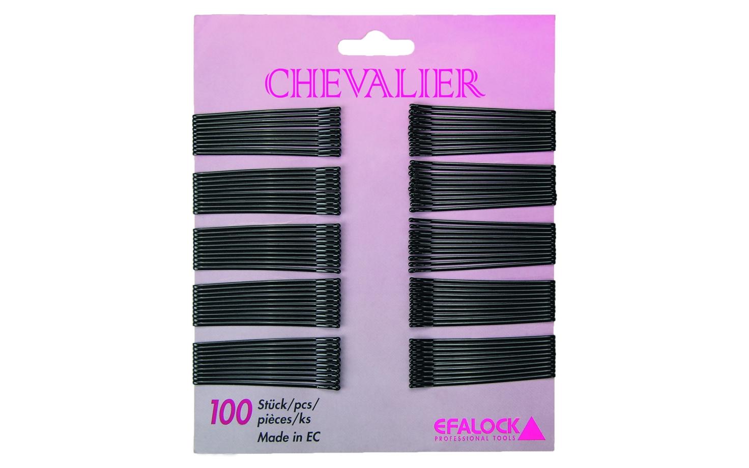 Efalock Chevalier Haarklemmen 7 cm 100 Stück