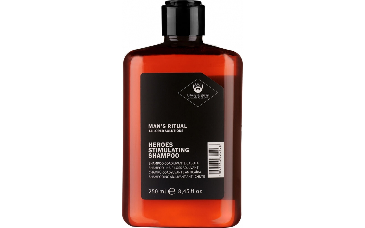 Dear Beard Man's Ritual Heroes Stimmulierendes Shampoo