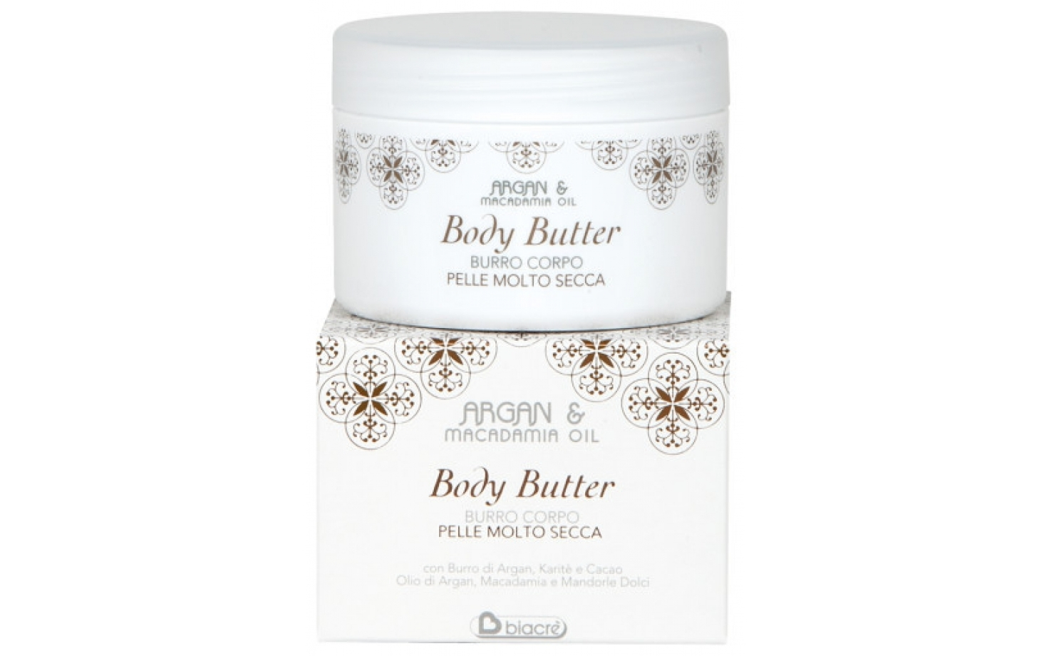 Biacre Argan & Macadamia Body Butter 250 ml