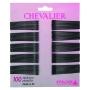 Efalock Chevalier Haarklemmen 7 cm 100 Stück schwarz
