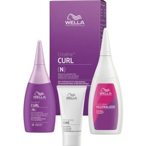 Wella Creatine+ Curl N/R Hair Kit