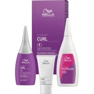 Wella Creatine+ Curl C/S Hair Kit