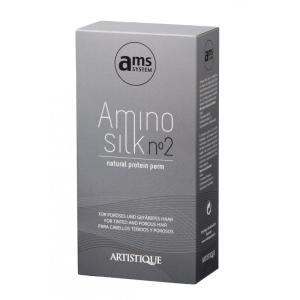 AminoSilk Natural Protein Perm Set 2 für poröses und gefärbtes Haar