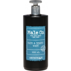 Male Co. Hair & Beard Wash 1000 ml