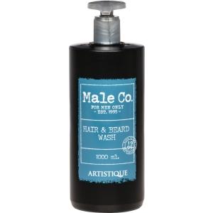 Male Co. Hair & Beard Wash 1000 ml