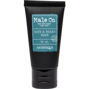 Male Co. Hair & Beard Wash 30 ml