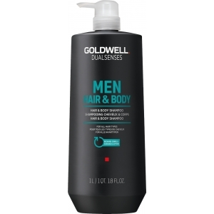Dualsenses Men Hair & Body Shampoo 1000 ml