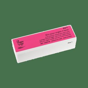 4-seitige Fluo-Polierfeile für Nägel