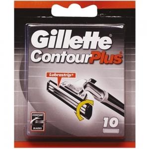 Gillette Contour Plus Klingen 10er