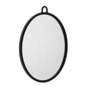 Efalock Spiegel Kunststoff schwarz