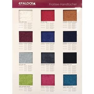 Efalock Farbkarte für Handtücher