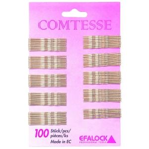 Efalock Comtesse Haarklemmen 7 cm 100 Stück