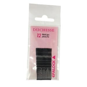 Efalock Duchesse Haarklemmen 7 cm 12 Stück