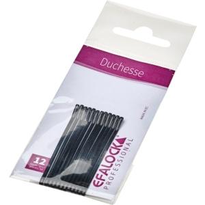Efalock Duchesse Haarklemmen 5 cm 12 Stück