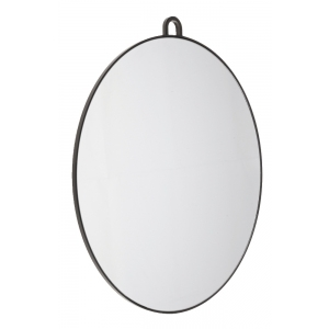 Efalock Handspiegel Slim Mirror black