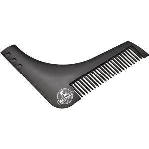 BeardEd Bartkamm schwarz 1 Stück