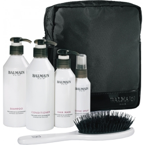 Balmain Beauty Bag schwarz