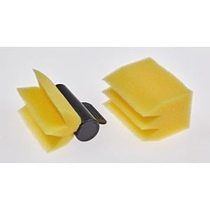 Efalock Fixierschwamm gelb 3er