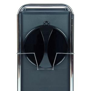 Efalock Spiegelhalter schwarz matt