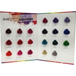 Dusy Color Injection Farbkarte