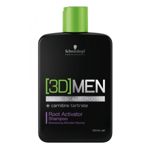 Schwarzkopf 3D Men Activating Shampoo