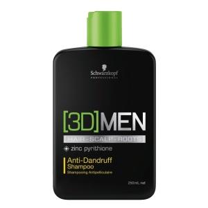Schwarzkopf 3D Men Anti-Dandruff Shampoo