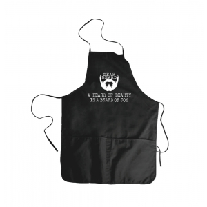 Dear Beard Work Apron black