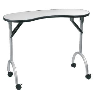 Peggy Sage Maniküre-Tisch zusammenklappbar ohne Staubsauger