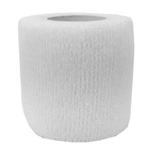 Klettschutzband 5 cm breit weiß