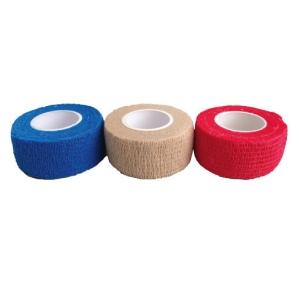 Klettschutzband 25 cm breit rot