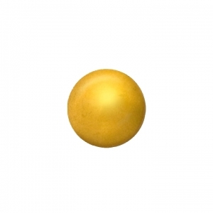 Ohrstecker Easypiercy Mini 2,95 mm goldfarben Kugel 1 Paar