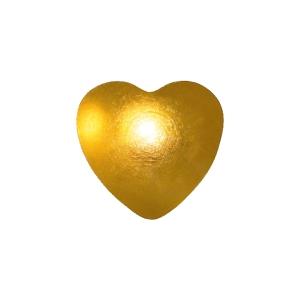 Ohrstecker Easypiercy Basic 3,95 mm goldfarben Herz 1 Paar