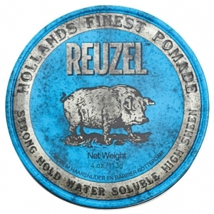 Reuzel Blue Strong Hold Water Soluble 113 g