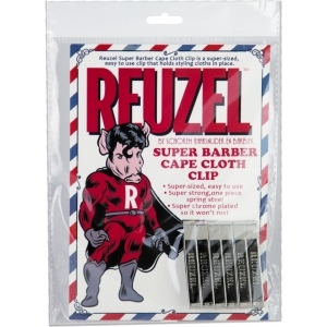 Reuzel Barber Cape Clip 6er Pack