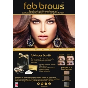 Fab Brows Poster