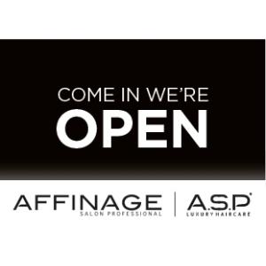 Affinage Door Open & Close Sign